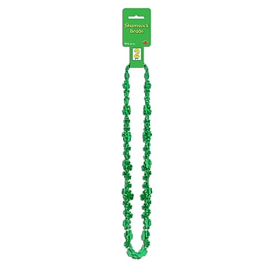 Beistle Shamrock Beads, 31