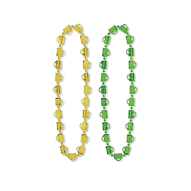 Beistle St Patrick Mug Beads Necklace, 33