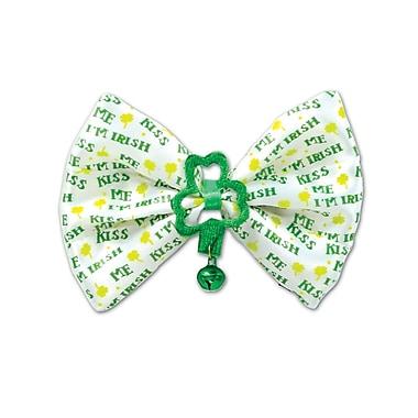 Beistle Kiss Me I'm Irish Bow Tie, 3 1/4