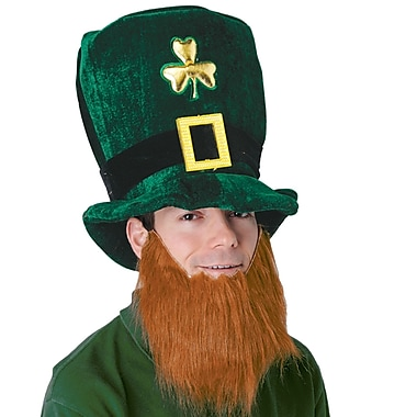Beistle Plush Leprechaun Hat With Beard