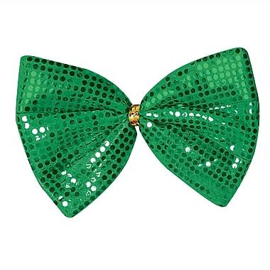 Beistle Jumbo St Patrick Glitz 'N Gleam Bow Tie, 8 1/2