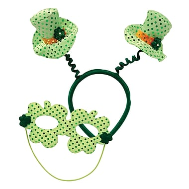 Beistle Leprechaun Hat Boppers With Mask, 2/Pack