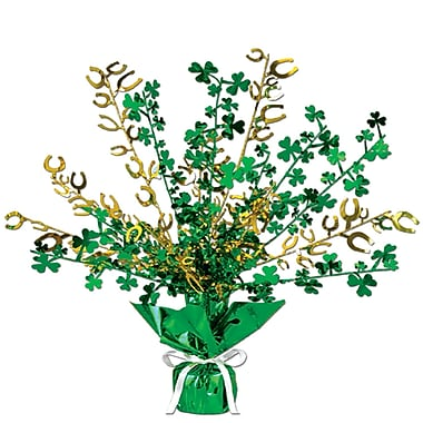 Beistle Shamrock And Horseshoe Centerpiece, 15