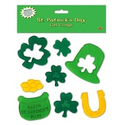 "Beistle 7 1/2"" x 7 1/2"" St. Patrick's Day Gel Clings, 40/Pack"