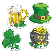 "Beistle 16"" St Patrick's Day Cutouts, 12/Pack"