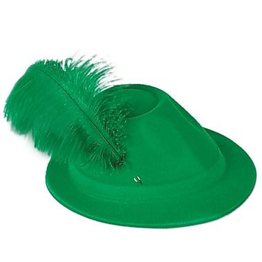 Beistle Green Velour Alpine, 4/Pack