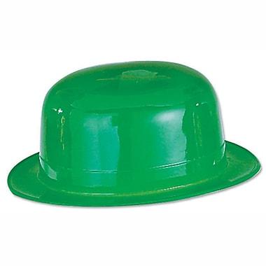 Beistle Green Plastic Derby, 9/Pack