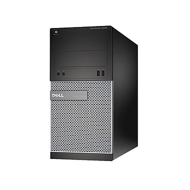 Dell™ 3020 OptiPlex Mini Tower Desktop Computer, Intel Quad Core i5-4570 3.20 GHz 4GB RAM