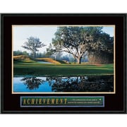 "Amanti Art ""Achievement: Golf"" Framed Print Art, 23"" x 29"""