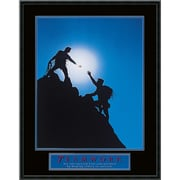 "Amanti Art ""Teamwork - Climbers"" Framed Print Art, 29"" x 23"""