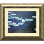 """Amanti Art Claude Monet """"Nympheas, 1897"""" Framed Art, 21"""" x 25"""""""