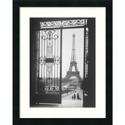 "Amanti Art Gall ""The Eiffel Tower From The Trocadero, 1925"" Framed Print Art, 22"" x 18"""