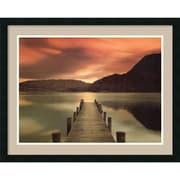 "Amanti Art Mel Allen ""Ullswater, Glenridding, Cumbria"" Framed Print Art, 24"" x 30"""
