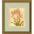 Amanti Art Gloria Eriksen in.Red Begoniasin. Framed Print Art, 16in. x 14in.