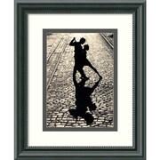 "Amanti Art ""The Last Dance"" Framed Print Art, 11 1/2"" x 9 1/2"""