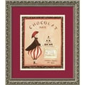 Amanti Art Katharine Gracey in.Chocolat, Parisin. Framed Print Art, 15.88in. x 13.88in.