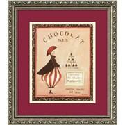 "Amanti Art Katharine Gracey ""Chocolat, Paris"" Framed Print Art, 15.88"" x 13.88"""