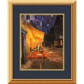 Amanti Art Vincent Van Gogh in.Cafe Terrace At Night, 1888in. Framed Print Art, 22in. x 18in.