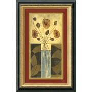 "Amanti Art Mark Cabral ""Sur la Table I"" Framed Art, 17.38"" x 11.38"""