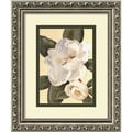 Amanti Art Waltraud Fuchs Von Schwarzbek in.Morning Magnoliain. Framed Print Art, 11.88in. x 9.88in.