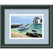 "Amanti Art Frane Mlinar ""Morning Reflections"" Framed Print Art, 9 1/2"" x 11 1/2"""