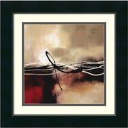 "Amanti Art Laurie Maitland ""Symphony in Red and Khaki II"" Framed Art, 17 1/2"" x 17 1/2"""