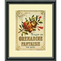 Amanti Art in.Grenadine Fantaisiein. Framed Print Art, 11.38in. x 9.38in.