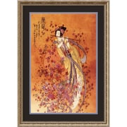 "Amanti Art Chinese ""Goddess of Prosperity"" Framed Art, 30 1/4"" x 22 1/4"""
