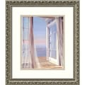 Amanti Art Carol Saxe in.Sea Breeze Iin. Framed Print Art, 15.88in. x 13.88in.