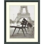 "Amanti Art Teo Tarras ""Rendezvous a Paris"" Framed Print Art, 21 1/2"" x 17 1/2"""