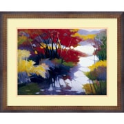 Amanti Art Tadashi Asoma Indian Summer Framed Print Art, 17.88 x 21.88