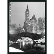 "Amanti Art ""Central Park"" Framed Print Art, 37.38"" x 25.38"""