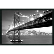 "Amanti Art ""San Francisco"" Framed Print Art, 25.38"" x 37.38"""
