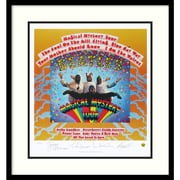 "Amanti Art ""The Beatles: Magical Mystery Tour"" Framed Print Art, 27"" x 25"""