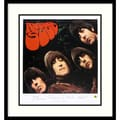 Amanti Art in.The Beatles: Rubber Soulin. Framed Print Art, 27in. x 25in.