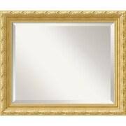 "Amanti Art 23.88"" x 19.88"" Versailles Medium Wall Mirror, Antique Gold"