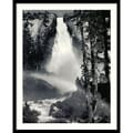 Amanti Art Ansel in.Nevada Fall, Rainbow, Yosemite National Park, California...in. Framed Art, 31in. x 25in.