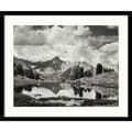 Amanti Art Ansel Adams in.Mount Clarence King, 1925in. Framed Print Art, 15.62in. x 20in.