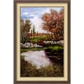 Amanti Art Luigi Ullio in.Shadowlands IIin. Framed Print Art, 38 1/4in. x 26 1/4in.