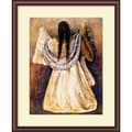 Amanti Art Rufino Tamayo in.Woman from Tehautepecin. Framed Art, 29 1/2in. x 24in.