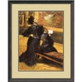Amanti Art Edgar Degas in.Visit to a Museumin. Framed Print Art, 29 1/2in. x 24 1/4in.