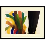 "Amanti Art Morris Louis ""Winged Hue II"" Framed Art, 21.62"" x 29"""