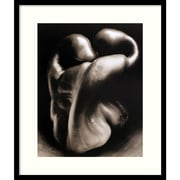 "Amanti Art Edward Weston ""Pepper No. 30"" Framed Print Art, 27 1/2"" x 23"""