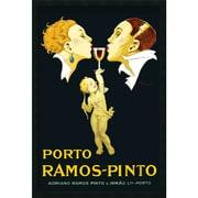 "Amanti Art Rene Vincent ""Porto Ramos-Pinto"" Framed Print Art, 37.38"" x 25.38"""