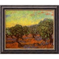 Amanti Art Vincent Van Gogh in.Olive Grove (L'Uliveto)in. Framed Art, 20in. x 24in.