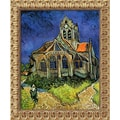 Amanti Art Vincent Van Gogh in.The Church at Auvers, 1890in. Framed Art, 23 1/2in. x 19 1/2in.