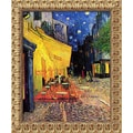 Amanti Art Vincent Van Gogh in.Cafe Terrace At Night, 1888in. Framed Art, 23 1/2in. x 19 1/2in.