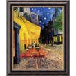Amanti Art Vincent Van Gogh in.Cafe Terrace At Night, 1888in. Framed Art, 24in. x 20in.