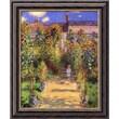 """Amanti Art Claude Monet """"The Artist's Garden at Vetheuil, 1880"""" Framed Art, 24"""" x 20"""""""