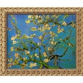 Amanti Art Vincent Van Gogh in.Almond Branches in Bloom, San Remy 1890in. Framed Art, 19 1/2in. x 23 1/2in.